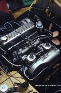 Triumph 1500 engine