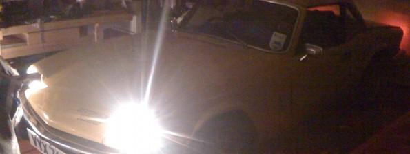 Spitfire headlights