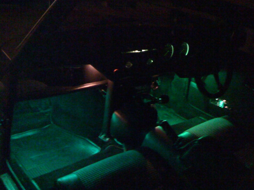 spitfire led footwell