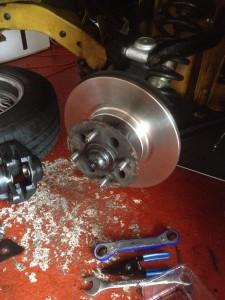 spitfire solid brake discs